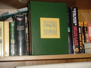 The Hobbitt - green leatherette collector's edition